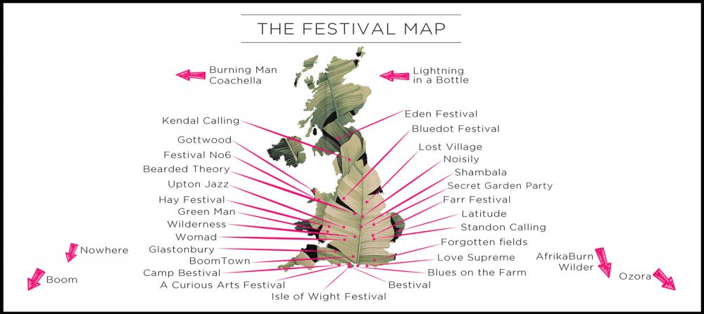 Portobello Tents Festival Map